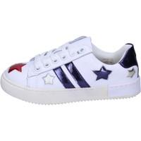 Schoenen Meisjes Lage sneakers Holalà Baskets BH13 Wit