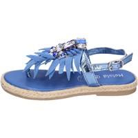 Schoenen Meisjes Sandalen / Open schoenen Holalà Sandales BH18 Blauw