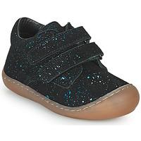 Schoenen Meisjes Lage sneakers Citrouille et Compagnie PIOTE Blauw