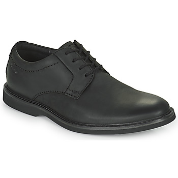 Schoenen Heren Derby Clarks ATTICUS LTLACE Zwart