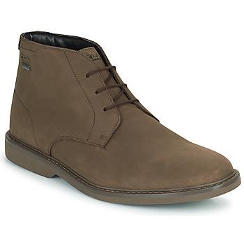 Schoenen Heren Laarzen Clarks ATTICUSLTHIGTX Brown