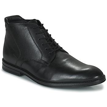Schoenen Heren Laarzen Clarks CITISTRIDERISE Zwart