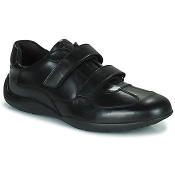 Schoenen Heren Derby Clarks KONRAD EASE Zwart
