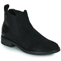 Schoenen Dames Laarzen Clarks MEMI TOP Zwart