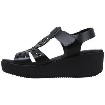 Schoenen Dames Sandalen / Open schoenen Amanda  Zwart