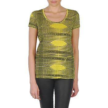 Textiel Dames T-shirts korte mouwen Eleven Paris DARDOOT Geel
