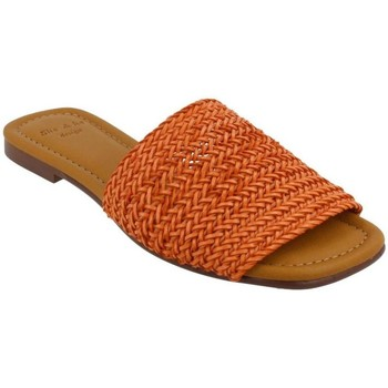 Schoenen Dames Leren slippers She - He  Naranja