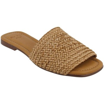 Schoenen Dames Leren slippers She - He  Beige