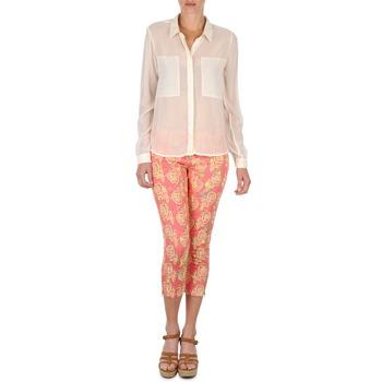 Textiel Dames Korte broeken Manoush PANTALON GIPSY JEANS Roze