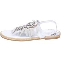 Schoenen Meisjes Sandalen / Open schoenen Holalà Sandales BH20 Wit