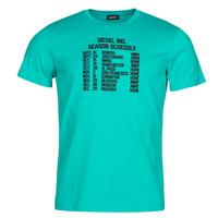 Textiel Heren T-shirts korte mouwen Diesel T-DIEGOS Blauw