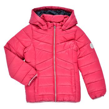 Textiel Meisjes Dons gevoerde jassen Name it NMFMOBI JACKET Roze