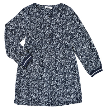 Textiel Meisjes Korte jurken Name it NKFKARINFRA LS DRESS Marine