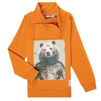 Textiel Jongens Sweaters / Sweatshirts Name it NKMKUVAU LS SWE Orange