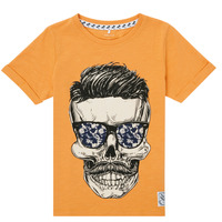 Textiel Jongens T-shirts korte mouwen Name it NKMKSOYTAN SS TOP Geel