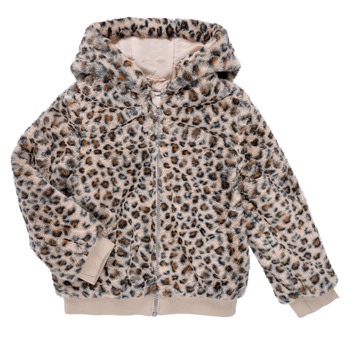 Textiel Meisjes Wind jackets Name it NMFMADDIE FAUX FUR JACKET Multicolour