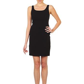 Textiel Dames Korte jurken Lola RITZ DOPPIO Zwart