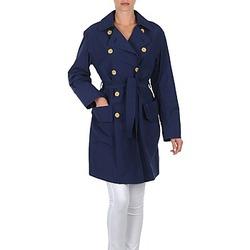 Textiel Dames Trenchcoats Lola MALIN VENTO Marine