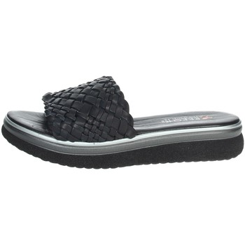 Schoenen Dames Leren slippers Repo 10100-E1 Black