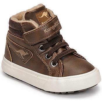 Schoenen Jongens Hoge sneakers Kangaroos KAVU III Brown