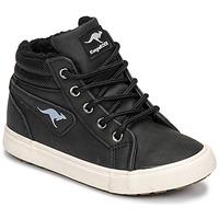 Schoenen Jongens Hoge sneakers Kangaroos KAVU I Zwart