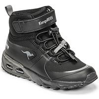 Schoenen Jongens Hoge sneakers Kangaroos KX-HYDRO Zwart