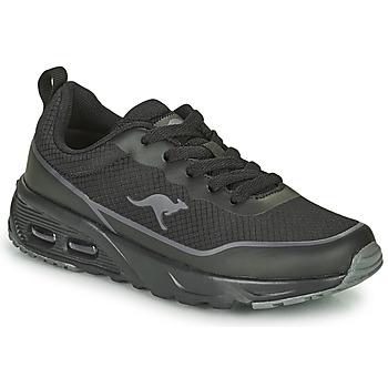 Schoenen Jongens Lage sneakers Kangaroos KX-3500 Zwart