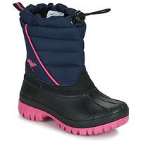 Schoenen Meisjes Snowboots Kangaroos K-BEN Blauw / Roze
