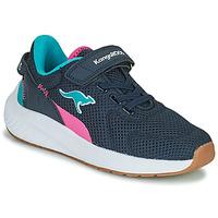 Schoenen Meisjes Lage sneakers Kangaroos K-FORT JAG EV Blauw