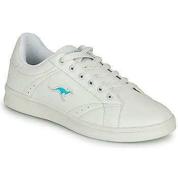 Schoenen Dames Lage sneakers Kangaroos K-TEN II Wit