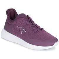 Schoenen Dames Lage sneakers Kangaroos K-ACT SCREEN Violet