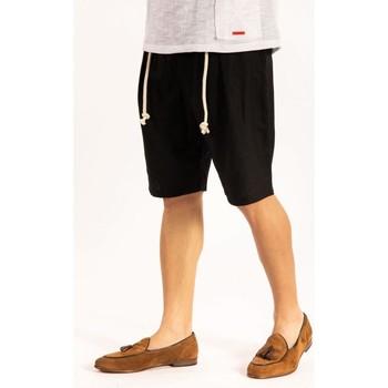 Textiel Heren Korte broeken / Bermuda's Takeshy Kurosawa  Zwart