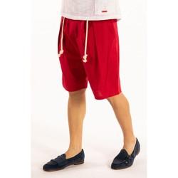 Textiel Heren Korte broeken / Bermuda's Takeshy Kurosawa  Rood