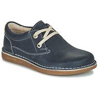 Schoenen Kinderen Derby Birkenstock MEMPHIS KIDS Blauw / Donker