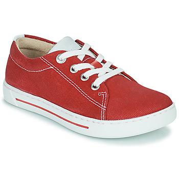 Schoenen Kinderen Lage sneakers Birkenstock ARRAN KIDS Rood