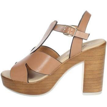 Schoenen Dames Sandalen / Open schoenen Repo 56247-E1 Brown leather