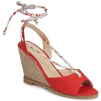 Schoenen Dames Sandalen / Open schoenen Petite Mendigote BLONDIE Rood