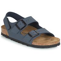 Schoenen Jongens Sandalen / Open schoenen Birkenstock MILANO HL Marine