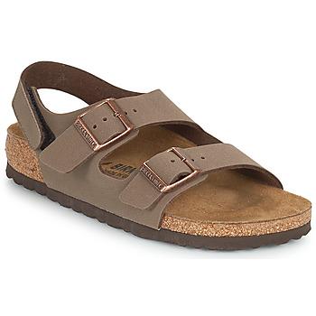 Schoenen Jongens Sandalen / Open schoenen Birkenstock MILANO HL Moka