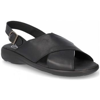 Schoenen Heren Sandalen / Open schoenen Cbp - Conbuenpie Sandalias de hombre de piel by Müller Noir