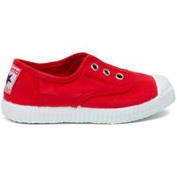 Schoenen Kinderen Tennis Cienta Chaussures en toiles  Tintado rouge