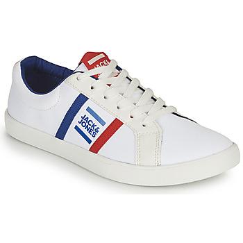 Schoenen Jongens Lage sneakers Jack & Jones WHILEY Wit