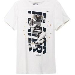 Textiel Heren T-shirts korte mouwen 4F TSM011 Blanc