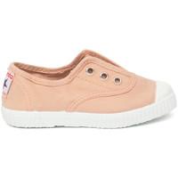 Schoenen Kinderen Tennis Cienta Chaussures en toiles  Tintado rose clair