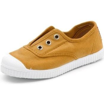 Schoenen Kinderen Tennis Cienta Chaussures en toiles  Tintado camel
