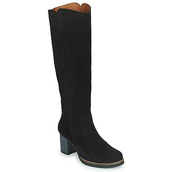 Schoenen Dames Hoge laarzen Casual Attitude HAPI Zwart