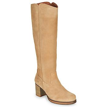 Schoenen Dames Hoge laarzen Casual Attitude PASTILLE Zwart