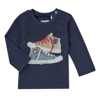 Textiel Jongens T-shirts met lange mouwen Ikks  Marine