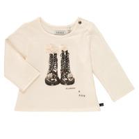Textiel Meisjes T-shirts met lange mouwen Ikks PAON Wit