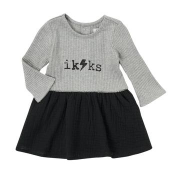 Textiel Meisjes Korte jurken Ikks CARAMEL Multicolour
